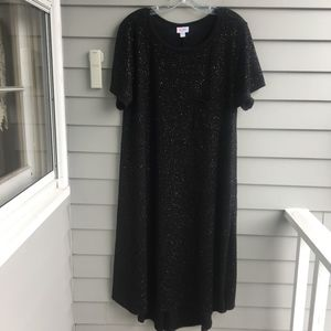 LULAROE Shimmer Carly Dress Elegant Collection